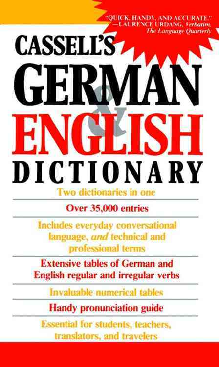 Cassell's German and English Dictionary By Sasse, H. C. (EDT)/ Horne, J./ Dixon, Charlotte (COM)/ Sasse, H. C./ Horne, J. (EDT)/ Dixon, Charlotte (EDT)